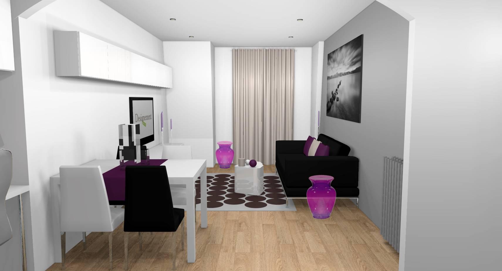 Dcoration dun appartement 2 pices achet  Aubervilliers 93  Designement Vtre