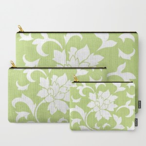 oriental-flower-daiquiri-green-carry-all-pouches