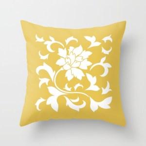 oriental-flower-mustard-yellow-pillows-1