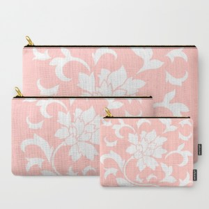 oriental-flower-rose-quartz-carry-all-pouches