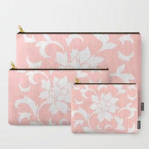 oriental-flower-rose-quartz-carry-all-pouches