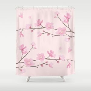 square-cherry-blossom-pink298883-shower-curtains