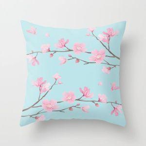 square-cherry-blossom-sky-blue-pillows