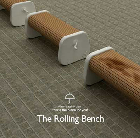 rolling bench