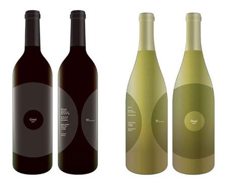 oriel wine 25 brilliant wine label, bottle & package designs