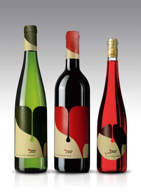 25 brilliant wine label