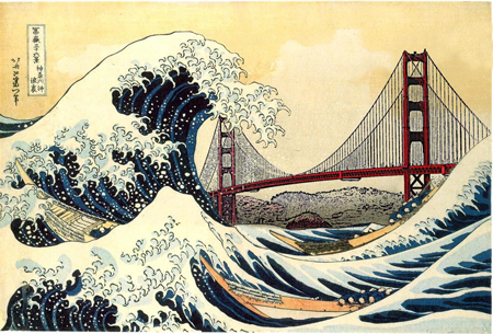 Japanese Wave Wallpaper Hd Hokusai S Great Wave Is Everywhere