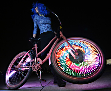 led bike monkey light