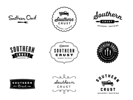 A Roundup of Vintage Style Logo Designs