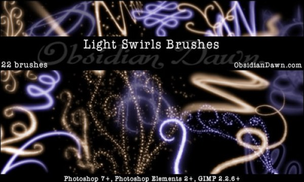 Light-Swirls-Brushes