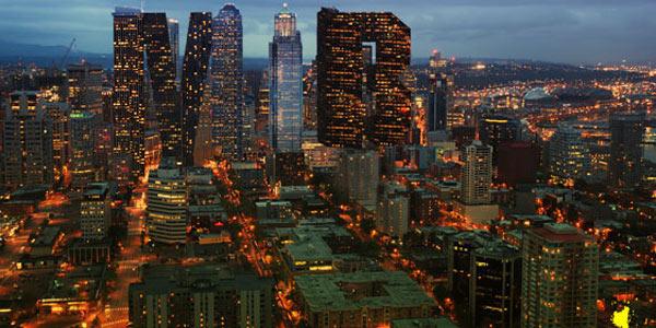 Create a Stunning City Skyline Made of Text