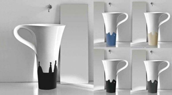 Taza de café lavabos