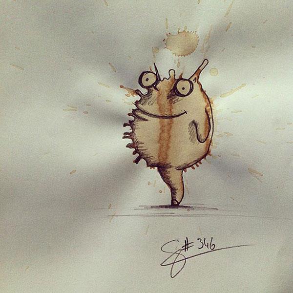 coffee-mancha-Doodle-monstruos-coffeemonsters-stefan-kuhnigk49