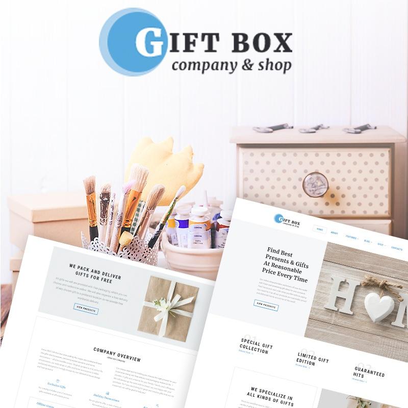 Gift Box - Handmade Gifts Store Elementor WooCommerce Theme