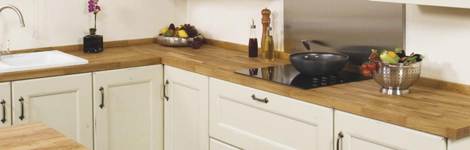 Wood Look Kitchen Worktops