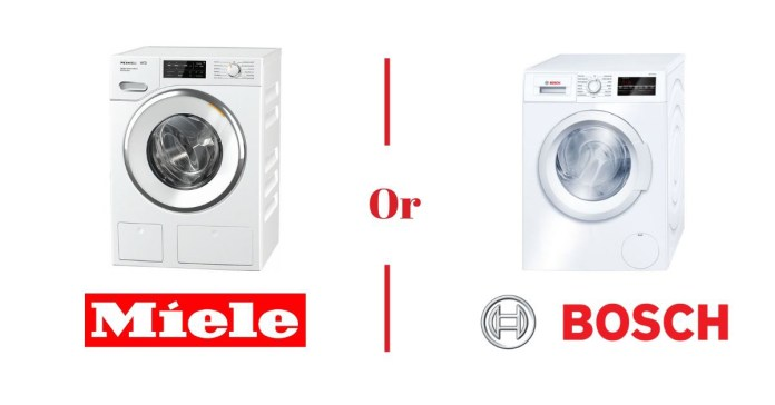 Bosch Vs Miele Compact Washer And Dryer 2021 Washer Dryers Compared