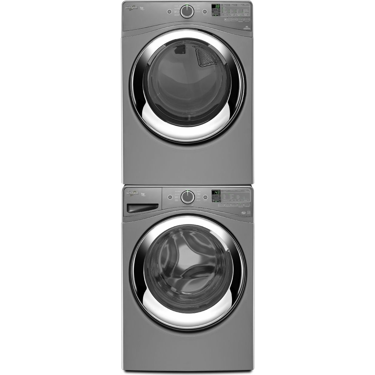 Whirlpool WFW87HEDC Front Load Washer & WGD87HEDC Gas
