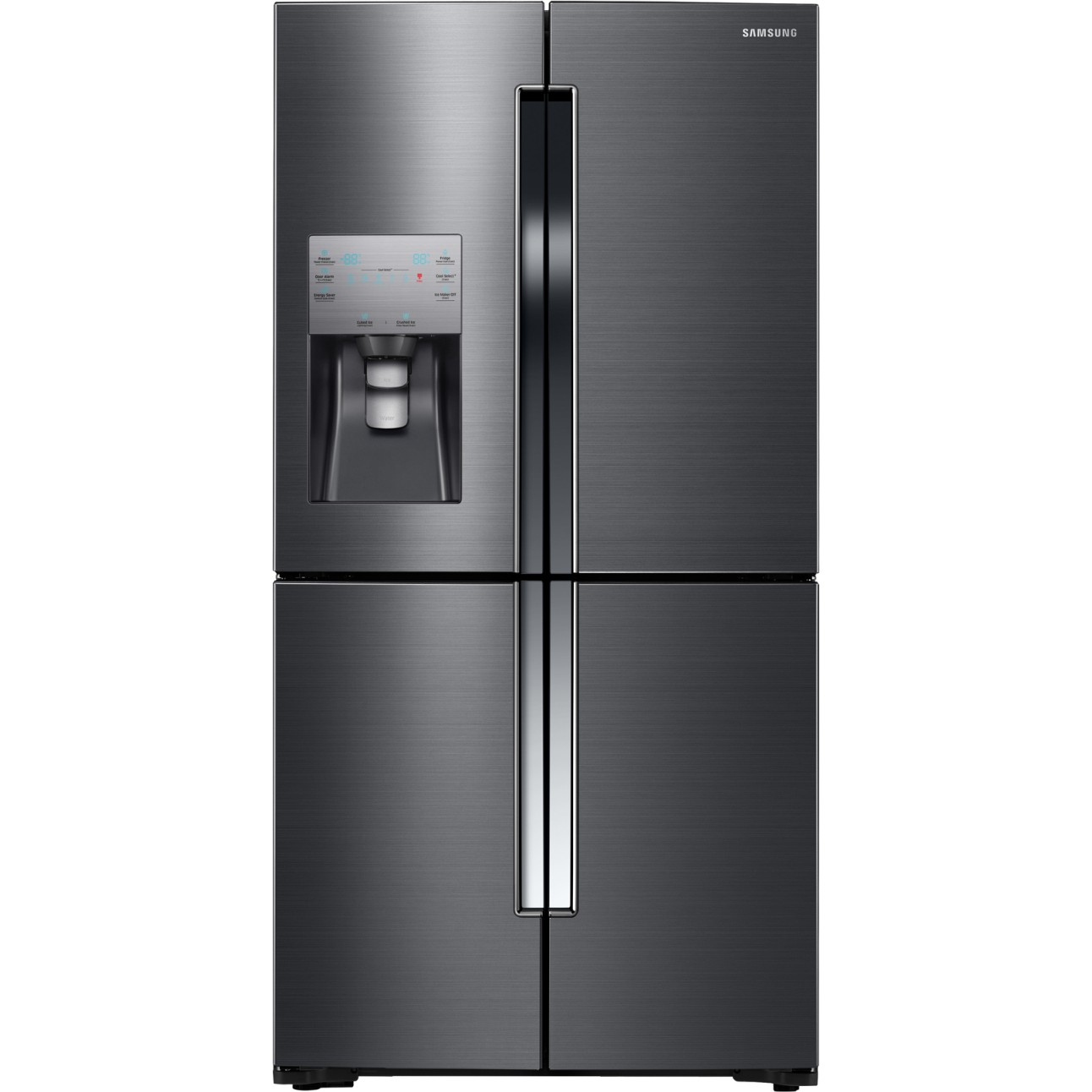 lowes kitchen appliance packages oak islands rf23j9011sg | samsung 22.5 cu. ft. counter-depth french ...