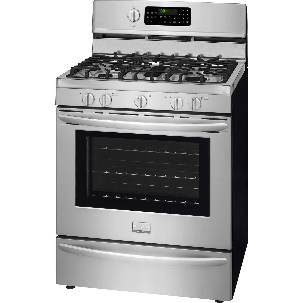 frigidaire kitchen appliances copper pendant lights gallery fggf3060sf