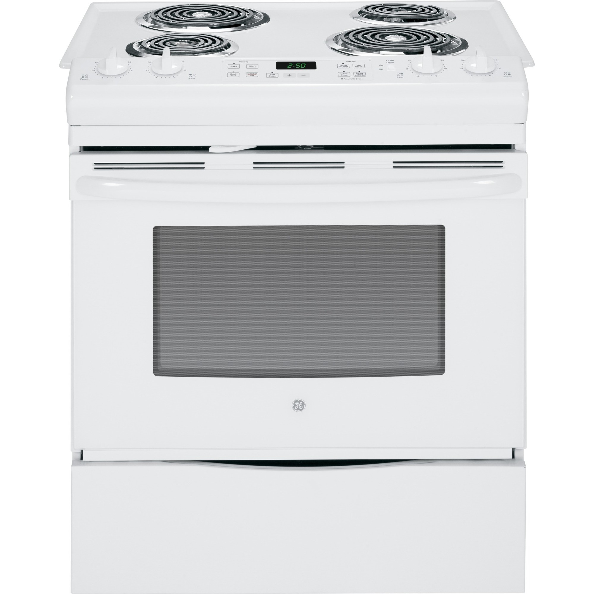 kitchen stoves at lowes shelving unit js250dfww | ge 30