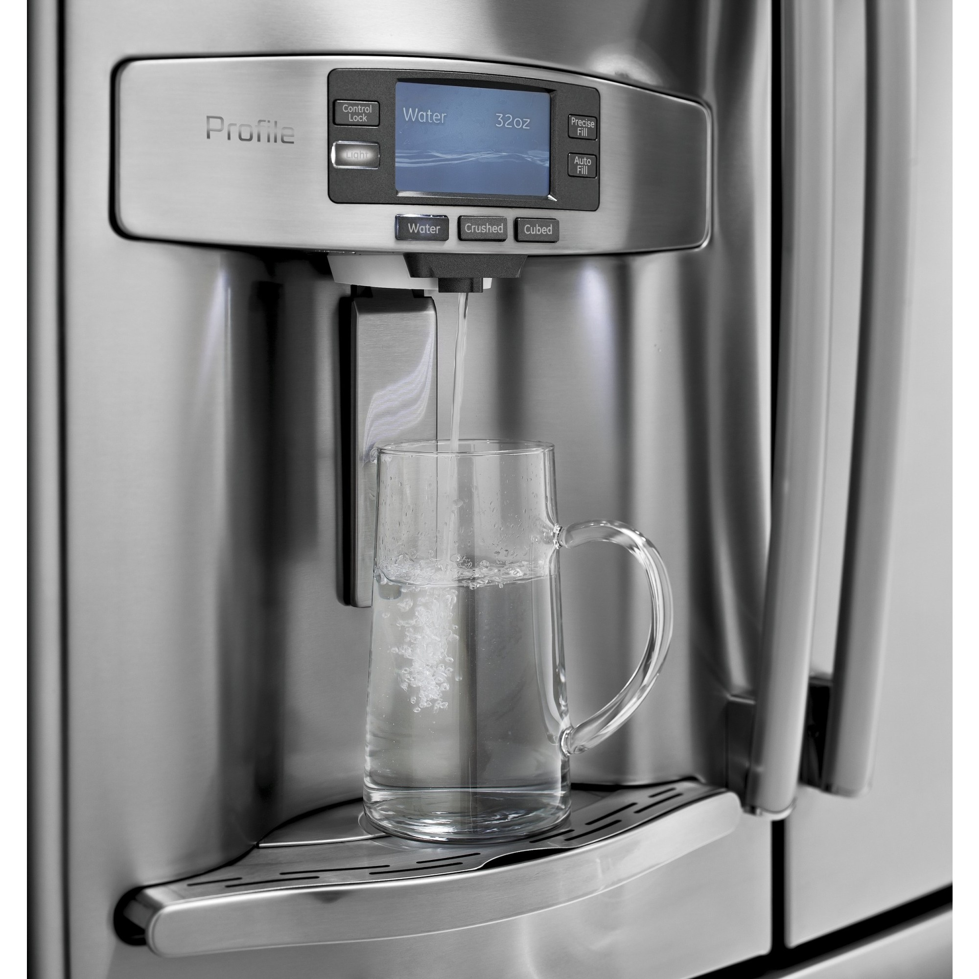 kitchen appliances pay monthly package pfe28rshss ge profile series 27 7 cu ft french door