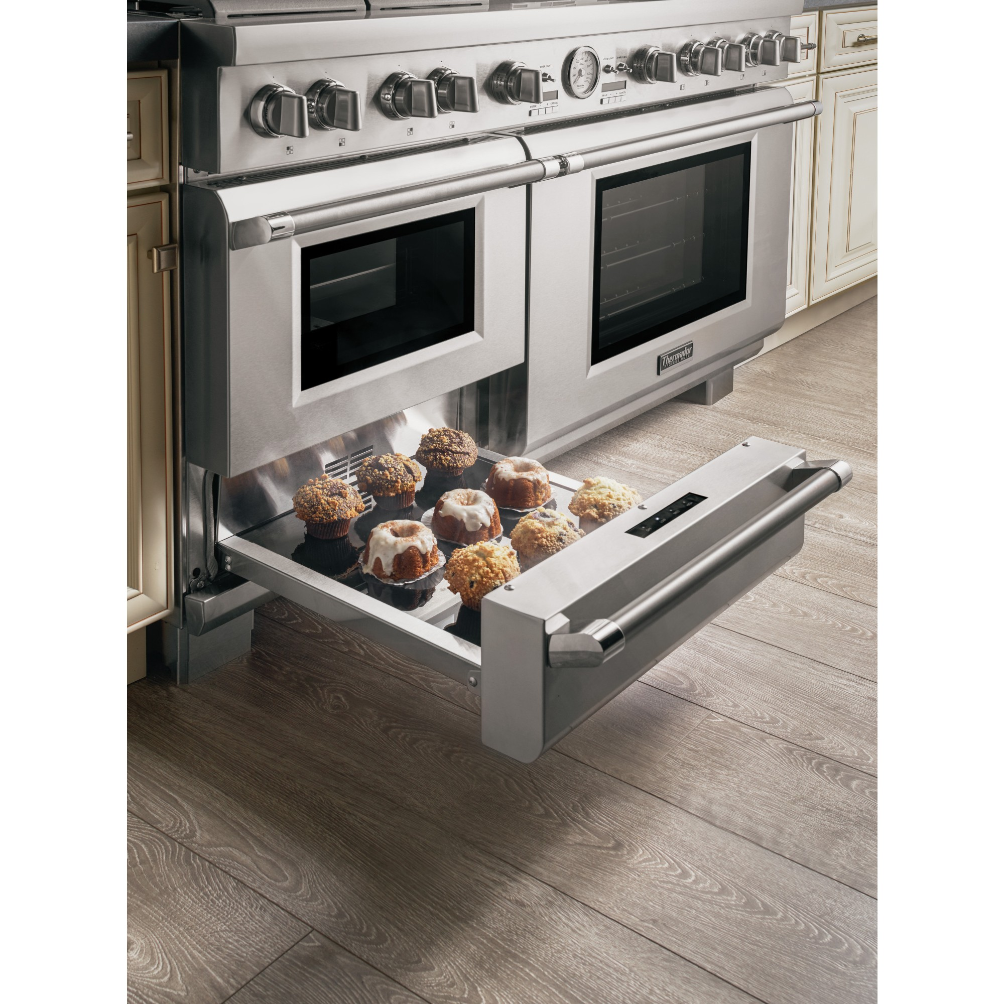 frigidaire kitchen package model homes pictures thermador prd606resg
