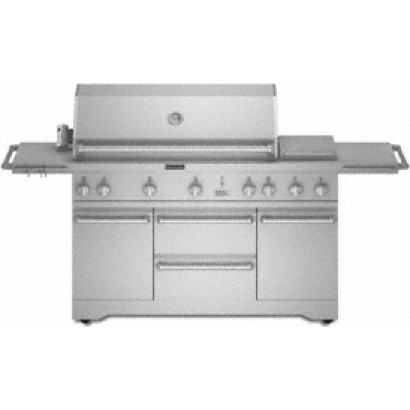 KitchenAid KFRU488TSS 48 LP Gas Grill with 851 sq in