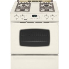 Lg Kitchen Appliance Packages Farm Sinks For Kitchens Amana : Slide-in Gas Range Bisque