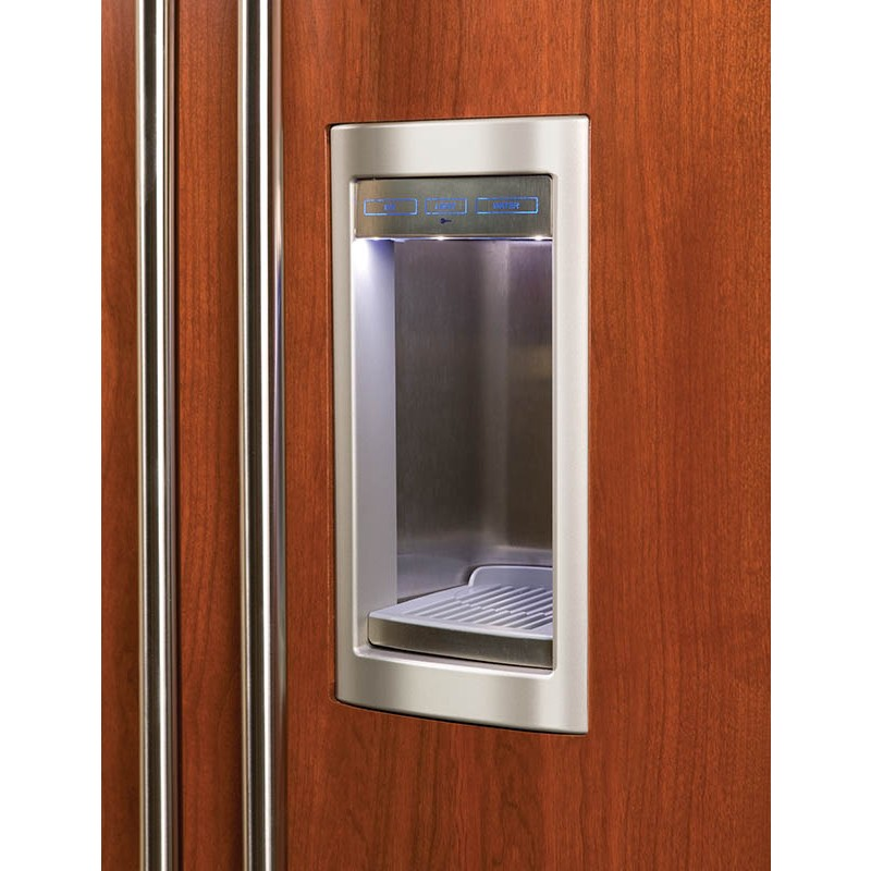 Sub Zero BI 48SDO 48 Built In Side By Side Refrigerator With Dispenser Overlay