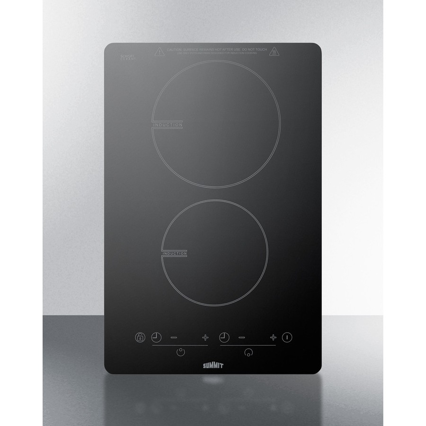 kitchen appliance bundle pantry cabinet lowes summit sinc2b120 2 burner induction cooktop (120 volts)