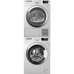 Bosch Kitchen Appliance Packages Outdoor Pavilion Designs Blomberg Wm98400sx Front Load Washer & Dhp24412w Electric ...