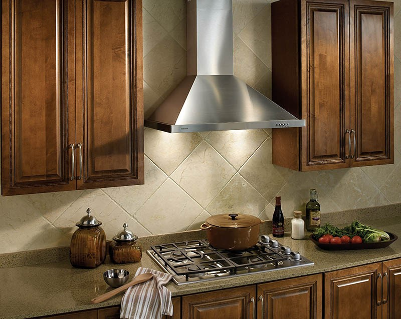 stainless steel kitchen packages island cabinet base broan b5830ss 30