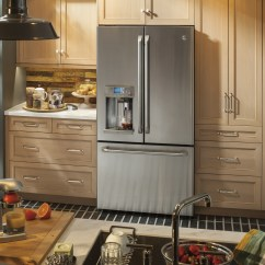 Stainless Steel Kitchen Packages Cabinet Refinishing Cye22ushss | Ge Cafe 36