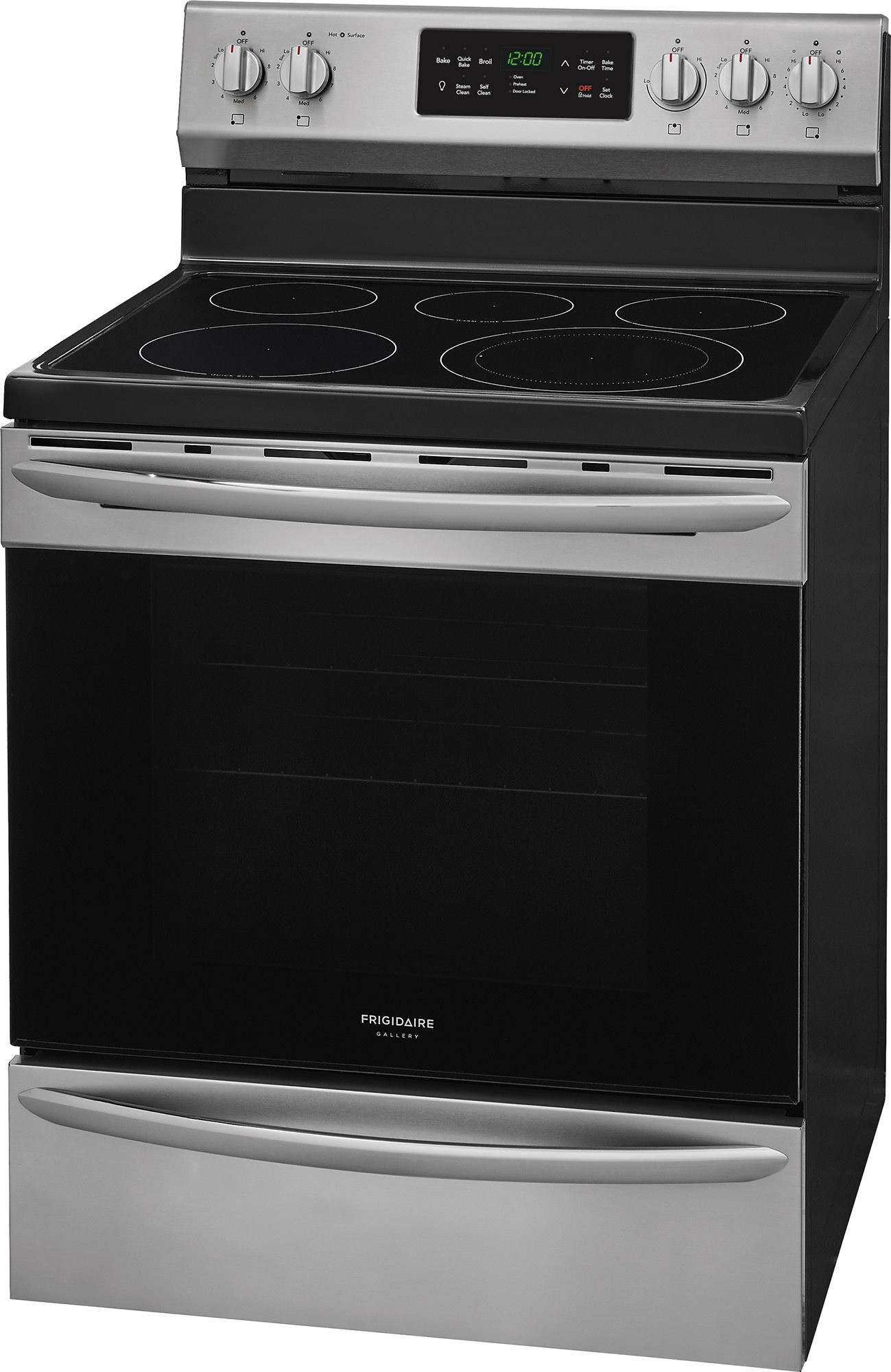 FGEF3036TF Frigidaire Gallery 30 Freestanding Electric Range Stainless Steel