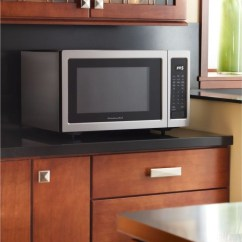 Kitchen Aid Microwaves Aids Kitchenaid Kcms1655bss 1.6 Cu. Ft. Countertop Microwave ...