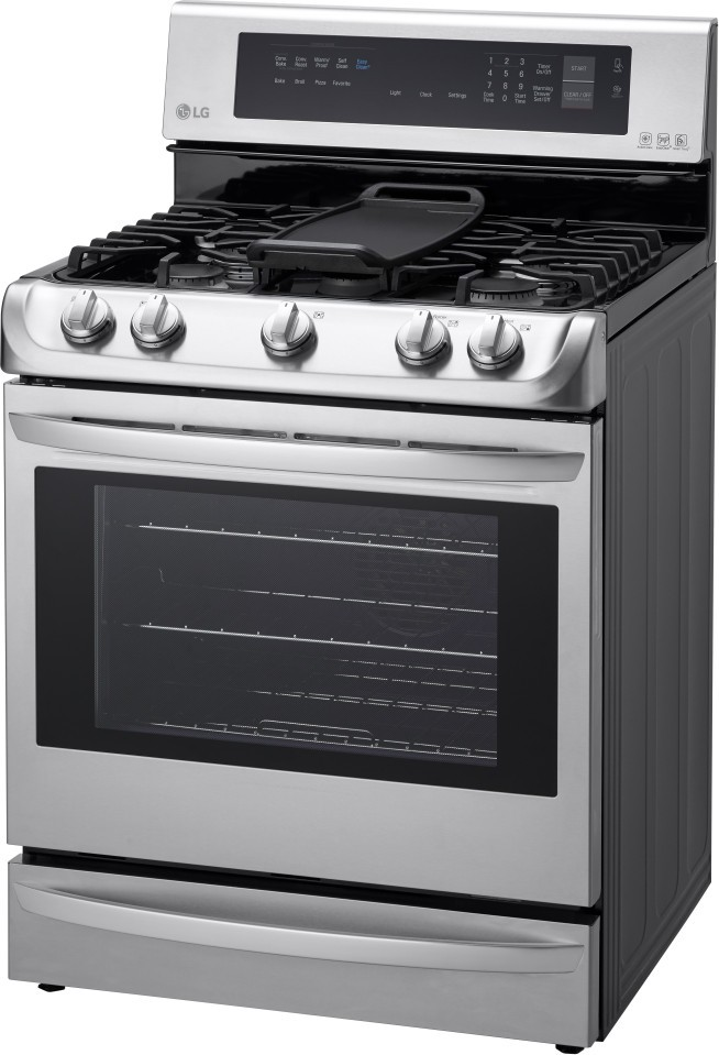 LG LRG4115ST 30 Freestanding Gas Range Convection