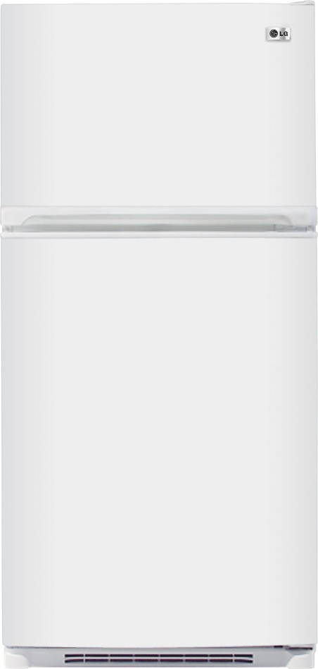 LG LTC22350WH 22.1 cu. ft. Top-Freezer Refrigerator with 4