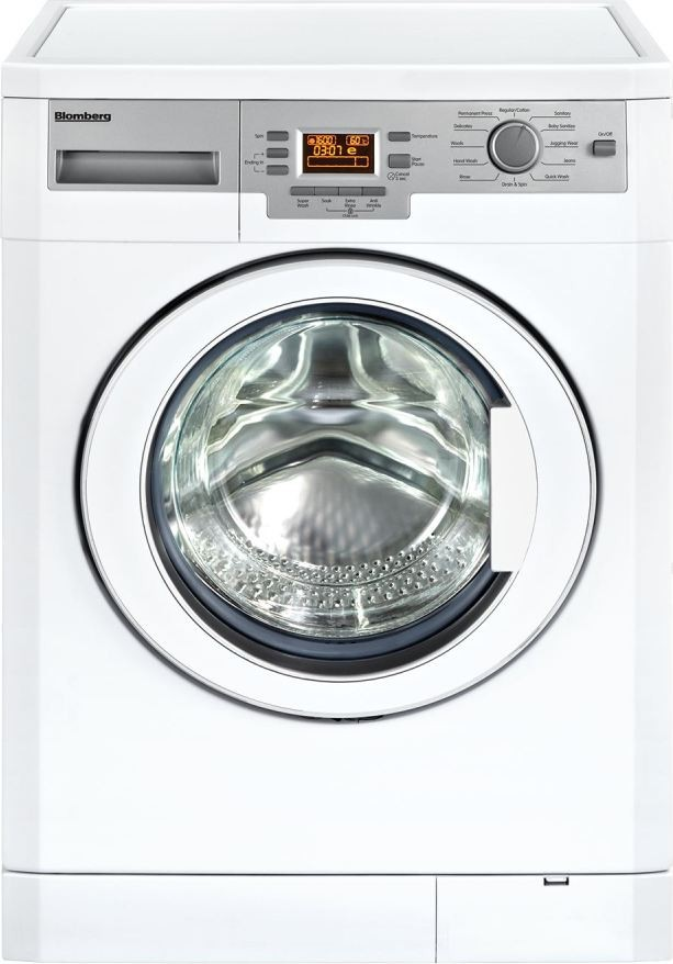 WM77120  Blomberg 24 Compact Washing Machine  Apartment Size Stackable wVented Electric Dryer