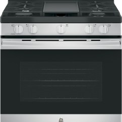 4 Piece Stainless Steel Kitchen Package Wall Cabinets Ge 4-piece With Jgbs66rekss Gas Range ...