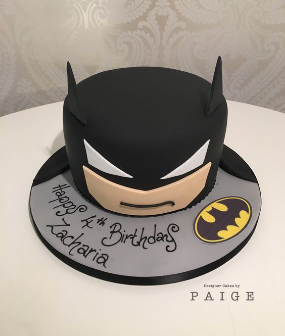 Batman Head Designer Cakes By Paige