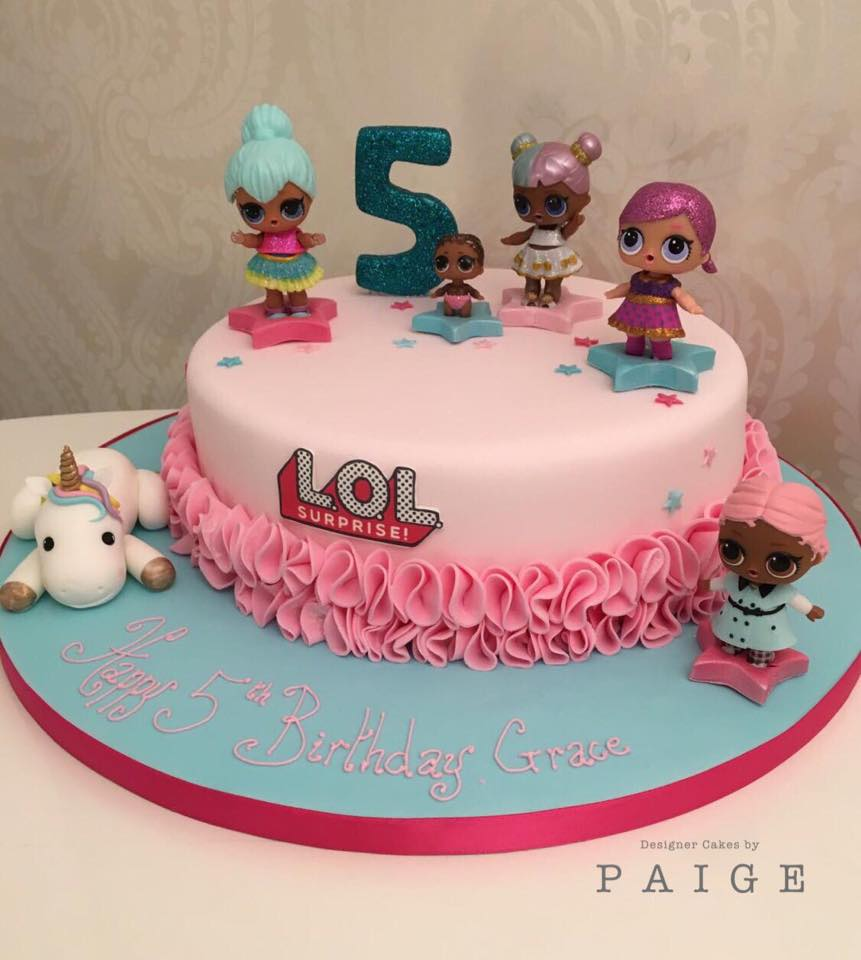 Lol Dolls Ruffle Designer Cakes By Paige