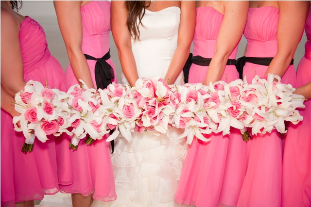 Pink Wedding Gown: Top Five Wedding Colours This Year