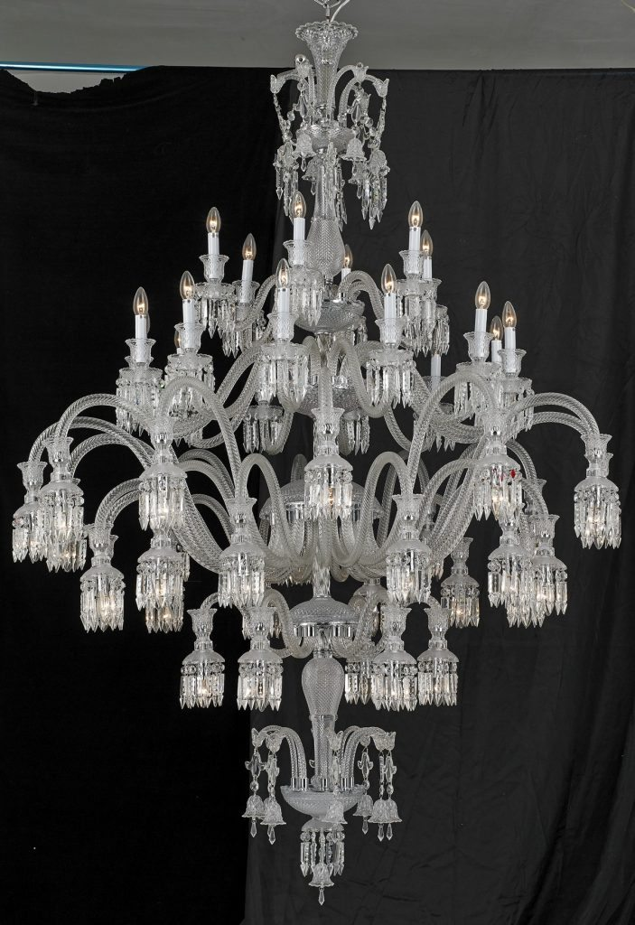 Sol 48 Light Baccarat Inspired Chandelier