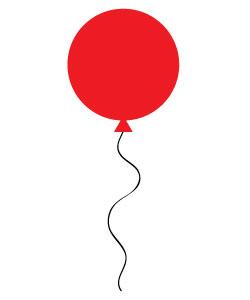 free birthday balloons clipart