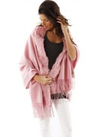 Designer Pink Cashmere Pashmina | Designer Cashmere Wraps ...