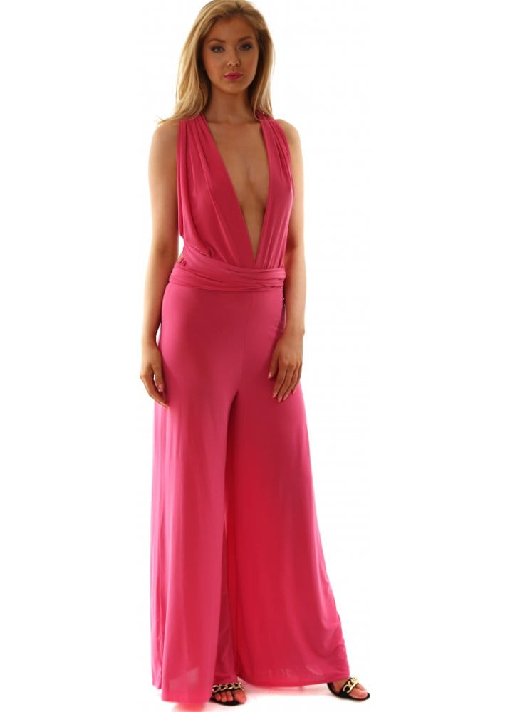 Red Amp Royal Pink Jumpsuit Endless Ways To Wear
