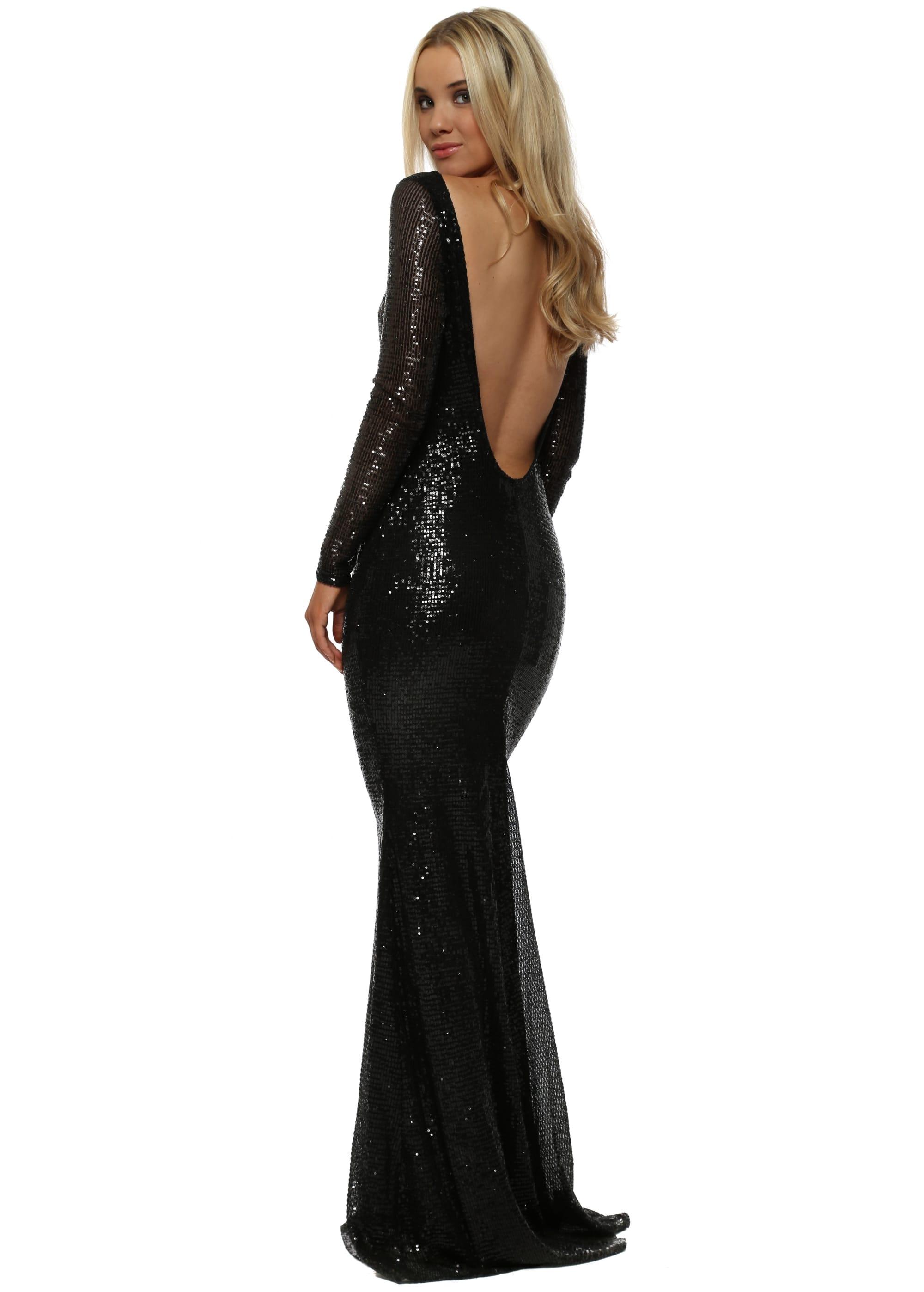 Low Back Sequin Dress  Stephanie Pratt