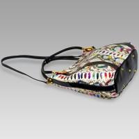 Marino Orlandi Rainbow Python Leather Oversized Purse ...