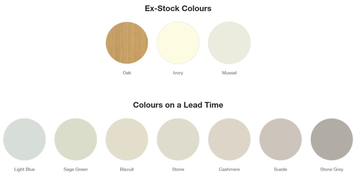 Windsor Shaker Colours Traditional Kitchen