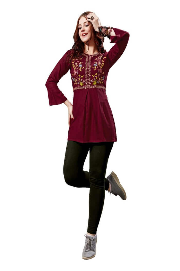 Tunic tops for women-in01f